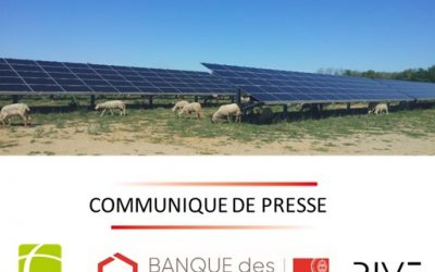 Rive Private Investment et de la Banque des Territoires cèdent à Tenergie deux parcs photovoltaïques dans le Var