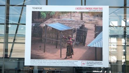 Tenergie, à l'affiche d'une exposition à l'Aéroport Marseille Provence