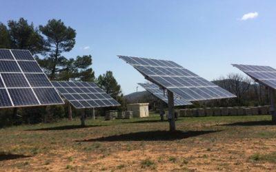 Tenergie expérimente pour la seconde fois la vente directe d'électricité sur le marché de gros avec sa centrale solaire Rians 2
