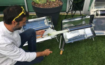 Tenergie teste la cuisine solaire !