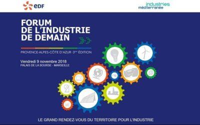 Tenergie était présent au Forum de l'Industrie de Demain