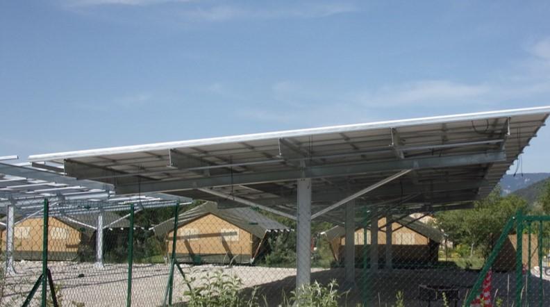 [COMMUNIQUE DE PRESSE] Hautes-Alpes : 100.000 € collectés en financement participatif pour les ombrières solaires de Tenergie