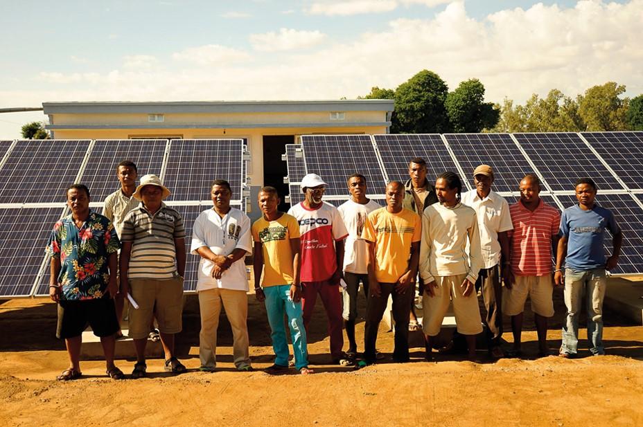 Un partage d'expériences au forum photovoltaïque de « Solaire Sans Frontières »