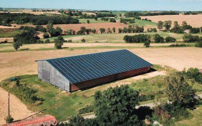 [COMMUNIQUE DE PRESSE] –  Tenergie met en service sa 500ème centrale solaire  sur hangar agricole.