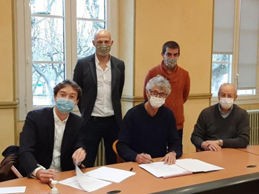 Projet AUPS : bail signé et second comité de pilotage