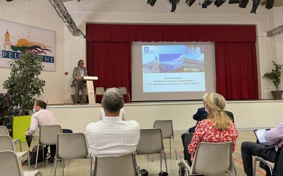 Tenergie participe à «l'atelier photovoltaïque» organisé par la Métropole Aix-Marseille- Provence, en lien avec Enerplan