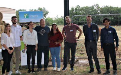 [INAUGURATION] Tenergie inaugure un nouveau bâtiment agricole sur la commune de Le Garn (30)